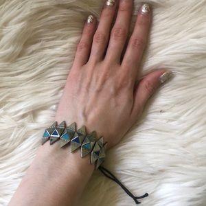 PacSun Jewelry - Pacsun Silver Tribal Bracelet